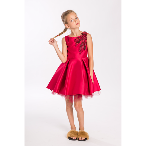 Zoe, Ltd. Red Swing Dress