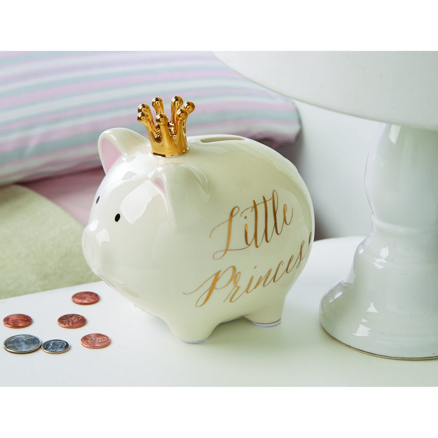 Mud pie ballerina piggy bank mud pie - Mud Pie Crown Princess Bank