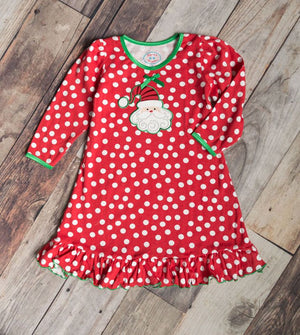 Sara's Prints Santa Nightgown