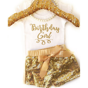 JJ Bowtique Birthday Girl Shirt