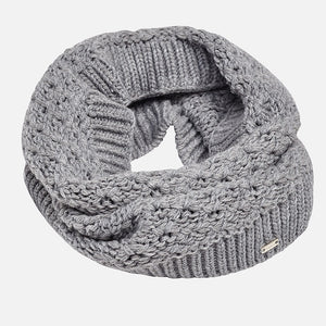 Mayoral Gray Infinity Scarf