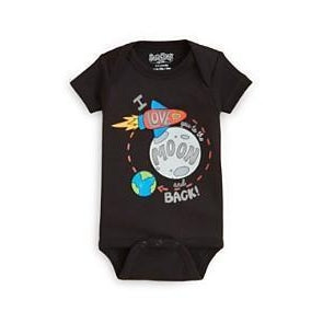 Sara Kety Moon and Back Onesie