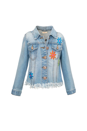 Hannah Banana Pop Art Denim Jacket
