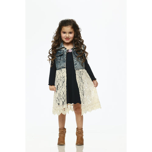 Little Mass Denim Vest
