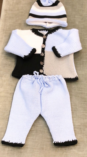 Colorblock Crochet Set