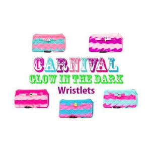 American Jewel Carnival Glow in the Dark Wristlet