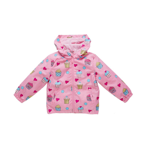 Holly and Beau Cupcake Raincoat