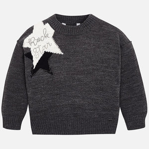 Mayoral Star Sweater
