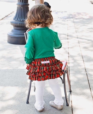 Tristan Plaid Bloomers