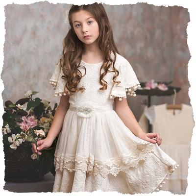 Frilly Frocks Fiona Weave Dress