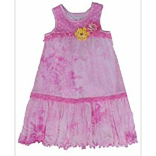 Cach Cach Pink Tie Dye Dress