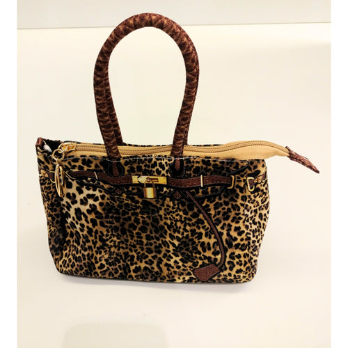 Amiana Leopard Purse