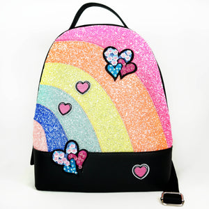 Hannah Banana Rainbow Backpack