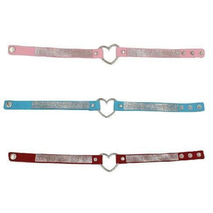Heart Bling Choker