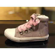Amiana Pink Shimmer Sneaker