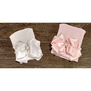 Cradle Cuties Satin Cutie Bow Hat
