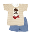 Haute Baby Giddy Up Boys Short Set