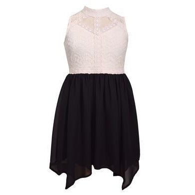Bonnie Jean Lace and Chiffon Tween Dress
