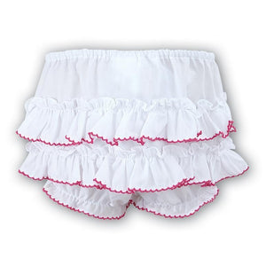 Sarah Louise Hot Pink Trim Bloomer