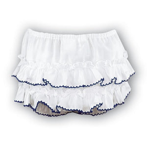 Sarah Louise Navy Trim Bloomer