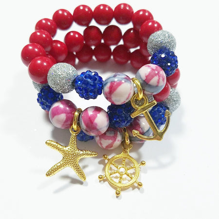Heart Me Anchor Bracelet