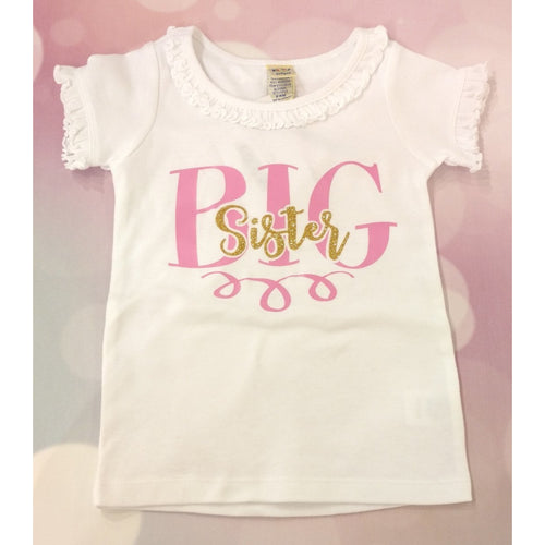 JJ Bowtique Big Sister Shirt