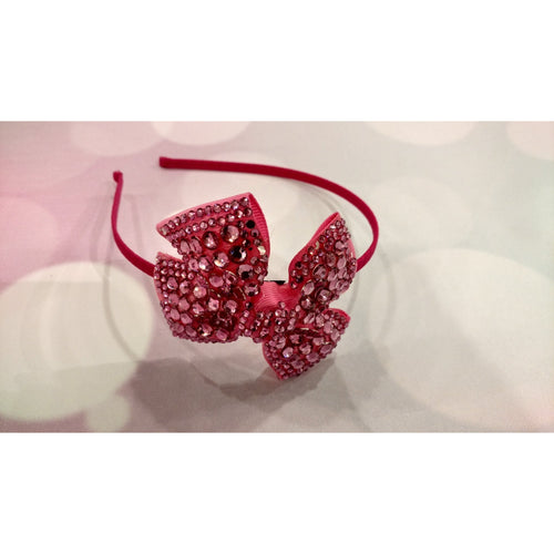 Bejeweled Bow Headband
