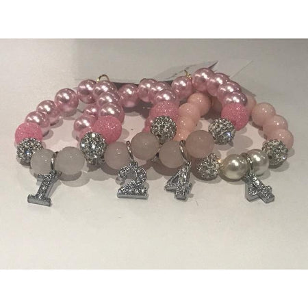 Heart Me Pink Birthday Bracelets