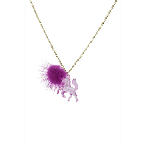 Little Miss Zoe Unicorn Necklace