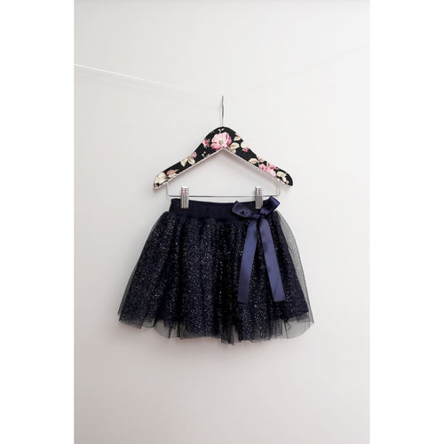Maeli Rose Navy Sparkle Skirt