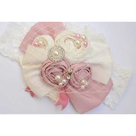 couture pink headband