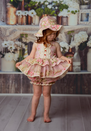 Frilly Frocks Florance Bloomer Set