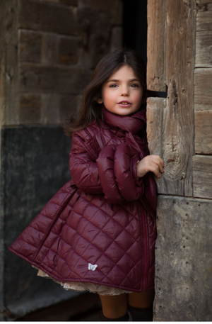 Water Resistant Bow Coat