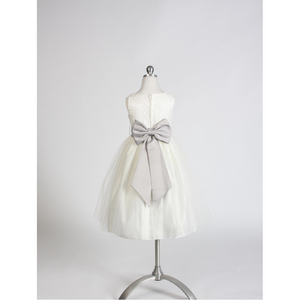 Sweet Kids Flower Girl Satin Sash
