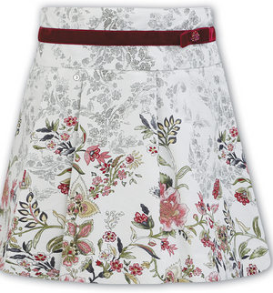 Sarah Louise Flower Printed Skirt