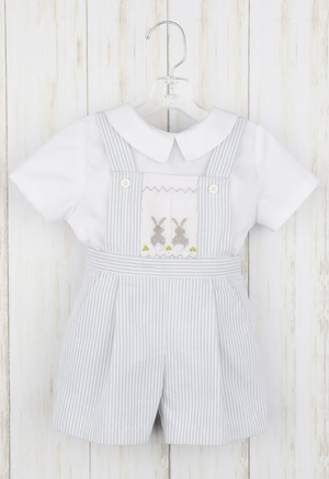 Luli and Me Bunny Romper