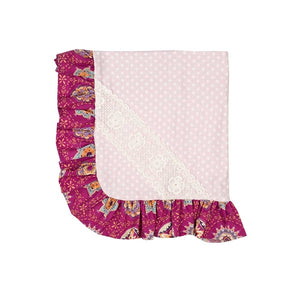 Haute Baby Magenta Magic Blanket