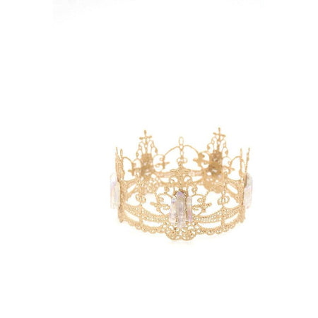 Lace Crown Aura Crystal Mini