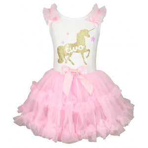 Popatu Dancing Unicorn Number Dress