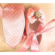 Baby's First Ballet Shoes in Pink, White or Ivory