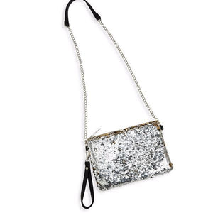 Bari Lynn Sequin Bag purse clutch child