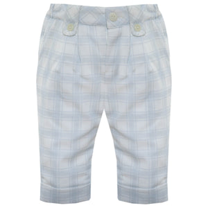 Patachou Blue Check Pants
