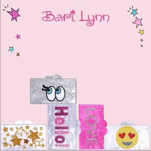 Bari Lynn Acrylic Box Bag