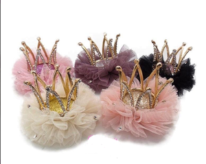 Crown Clip birthday hair accessory
