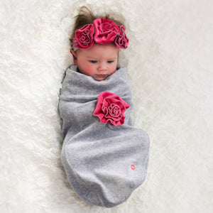 Heather Lilac Swaddle