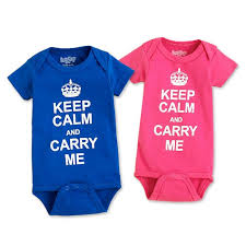 Sara Kety Keep Calm Onesie