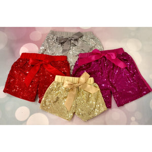 JJ Bowtique Sparkle Shorts