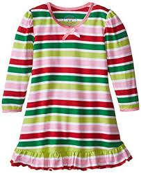 Holiday Stripe Nightgown