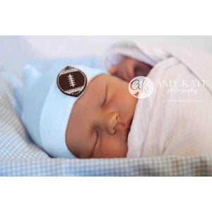 Newborn Cradle Cuties Football Hat