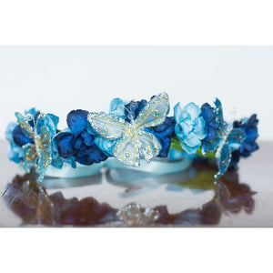 Blue Butterfly Halo